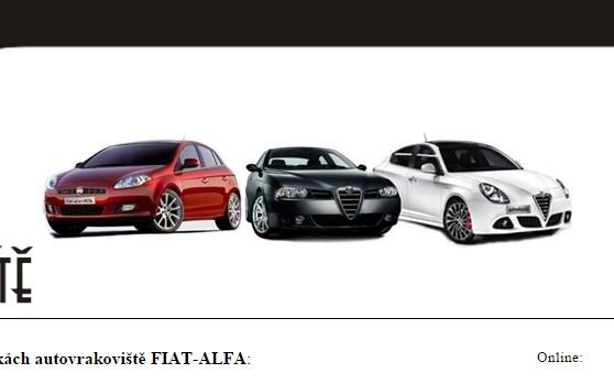 Autovrakoviště Fiat Alfa