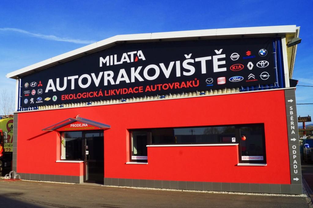 Autovrakoviště Milata - Dobrá u Frýdku Místku