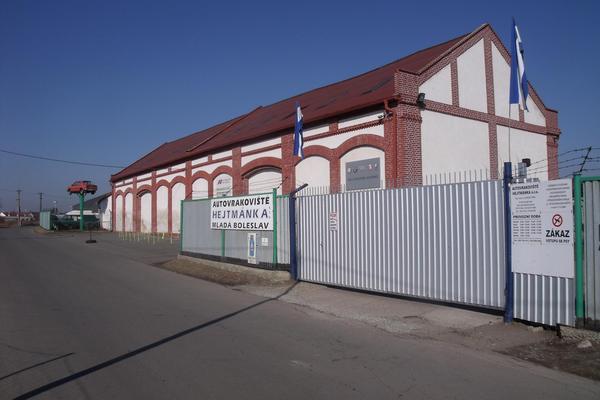 Autodíly Autovrakoviště Hejtmánka, s.r.o. Mladá Boleslav
