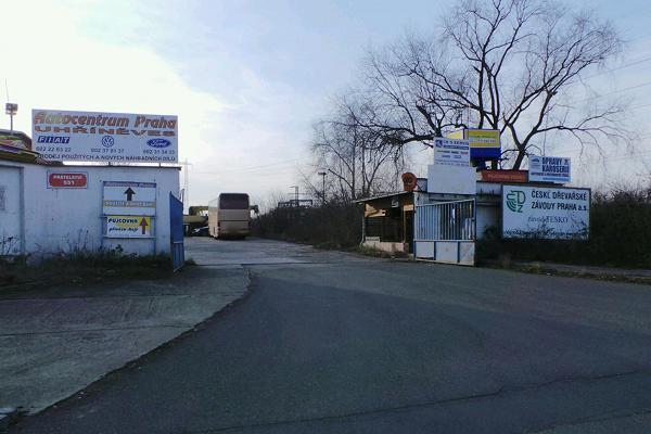Autovrakoviště Fiat autocentrum Praha