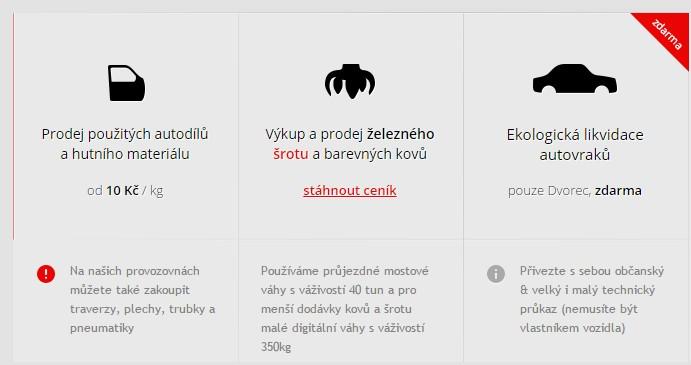 Ekologická likvidace - Kovošrot Nepomuk, s.r.o.