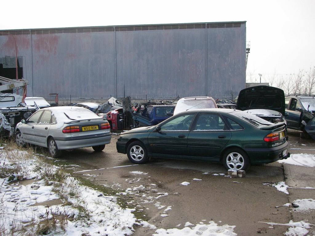 Autovrakoviště Renault Holice